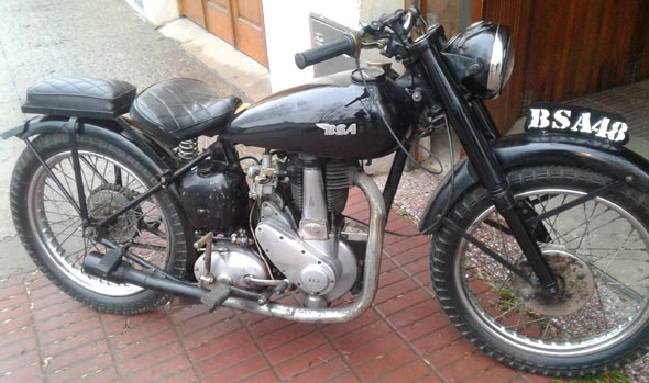 Moto BSA 350