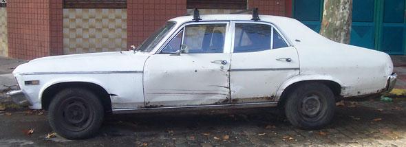 Auto Chevrolet Chevy 1975