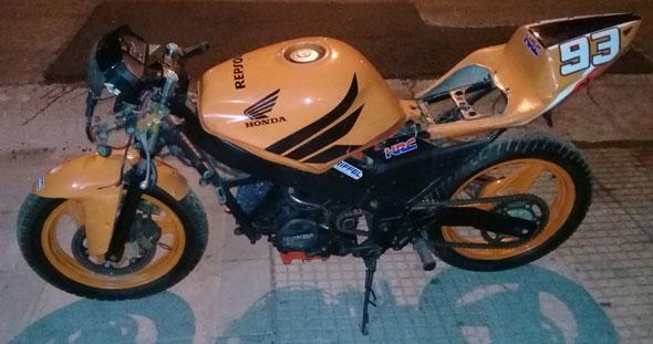 Moto Honda VTF 250 1993