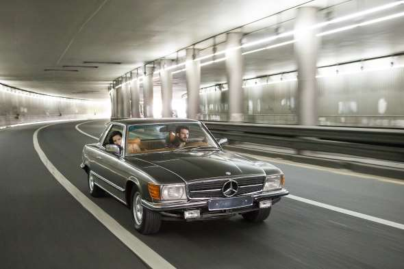 Auto Mercedes Benz SLC450