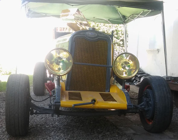 Auto Chevrolet Baquet 1928