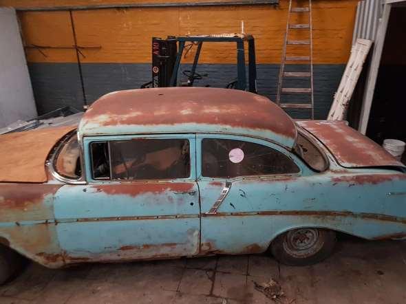 Auto Chevrolet Bel Air 1956