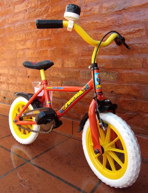 Bicicleta Bicicleta RVB Paseo Spiderman R12