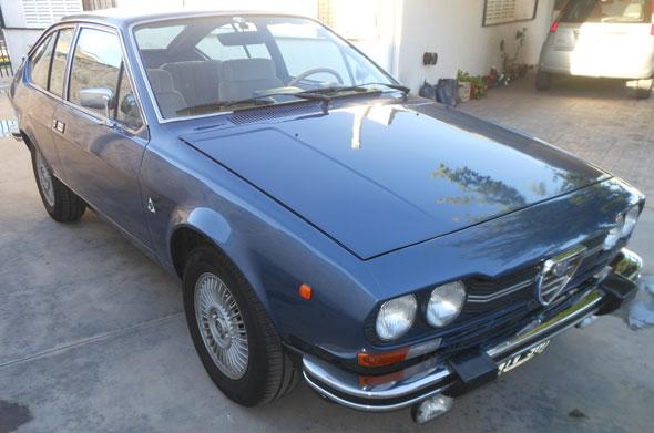 Auto Alfa Romeo GTV 1979