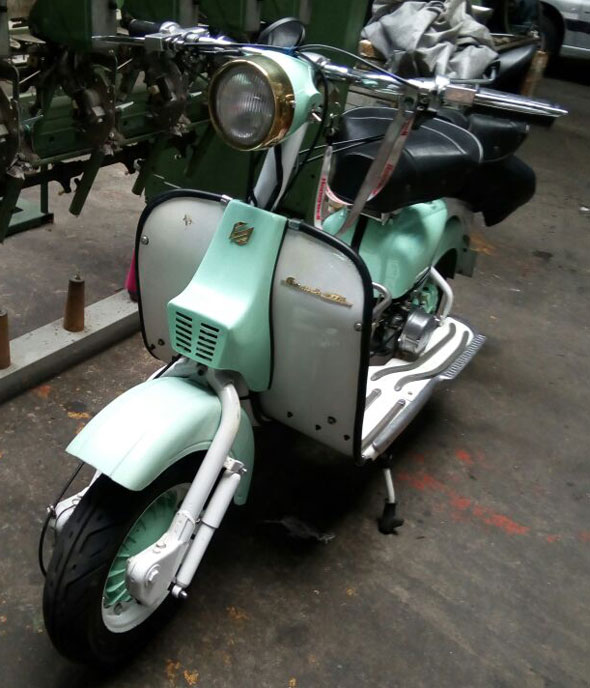 Moto Siambretta Av175