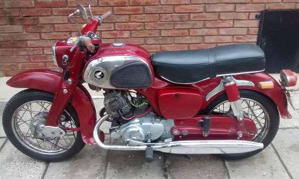 Moto Honda Benly 150