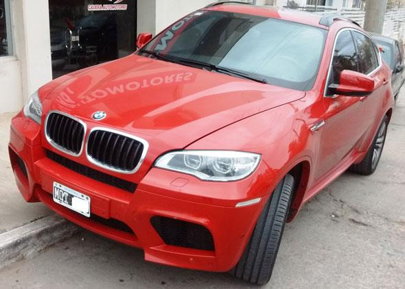 Auto BMW X6 M