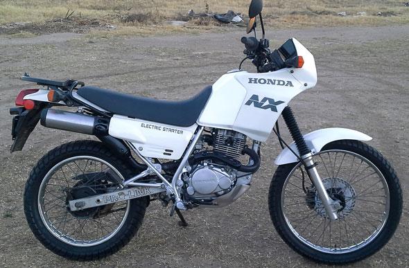 Moto Honda NX