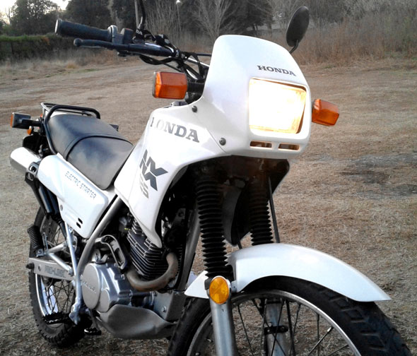 Moto Honda NX 125