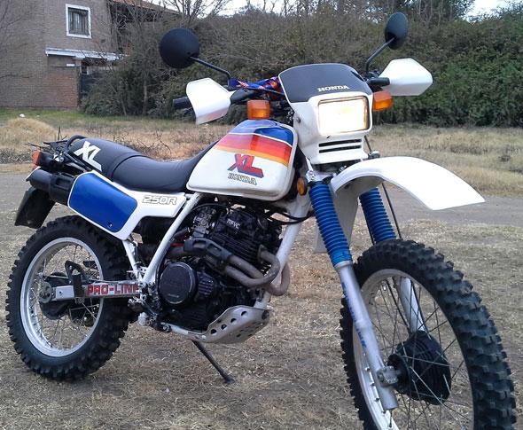Honda XLX 250R Motorcycle