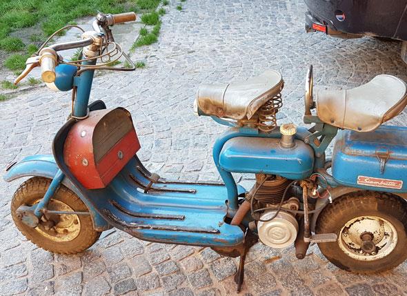 Moto Siambretta 125 Standard