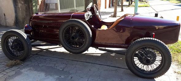 Car Ford Baquet 1929
