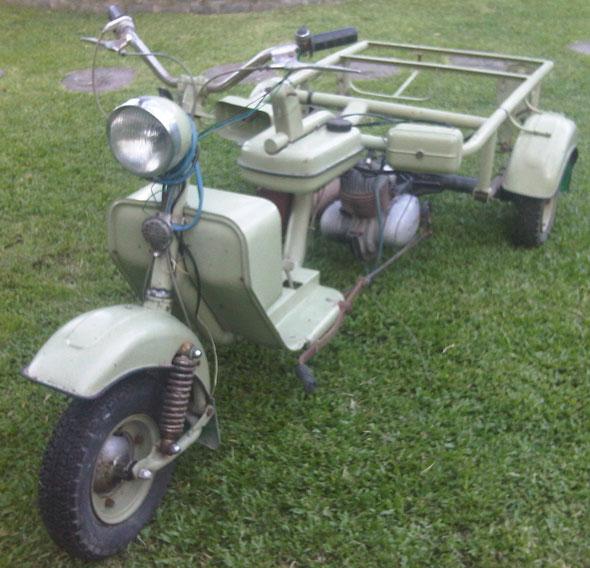 Moto DKW Bessone