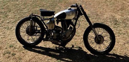 AJS 1948 Motorcycle