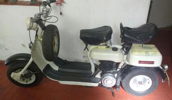Siambretta 125 Std Motorcycle