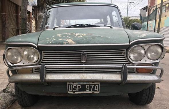 Car Fiat 1500