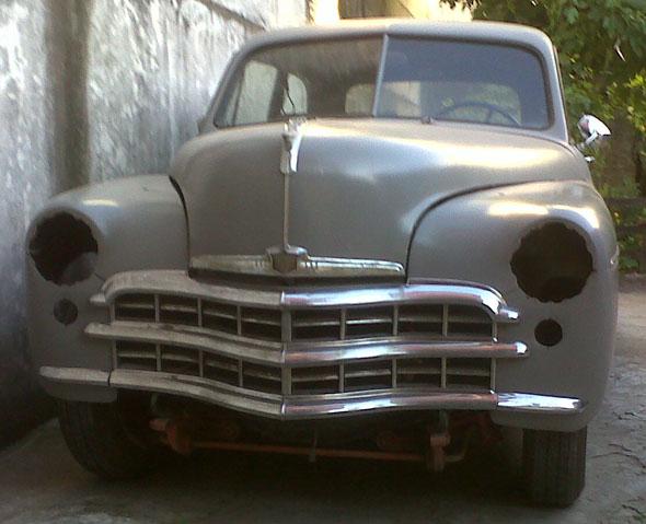 Auto Plymouth 1949