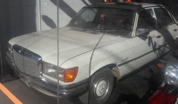 Car Mercedes Benz 1975 SE 280
