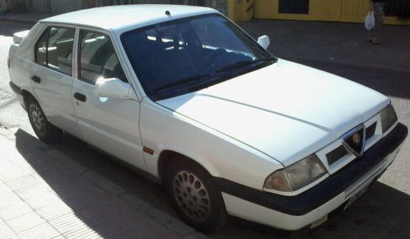 Car Ajfa Romeo 33 Imola