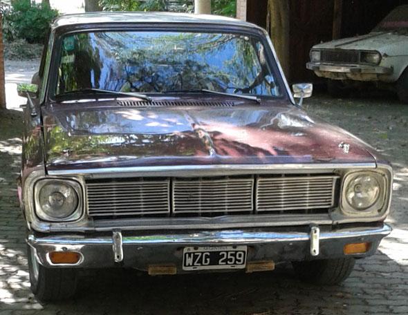 Car Valiant IV 1966