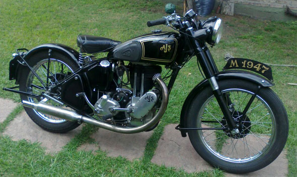 AJS 1947 Motorcycle
