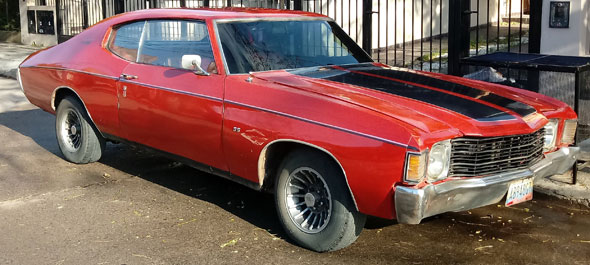 Auto Chevrolet Chevelle