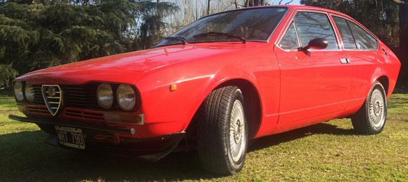 Car Alfa Romeo Alfetta GT 1.6