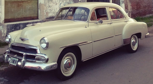 Car Chevrolet 1951 Styleline