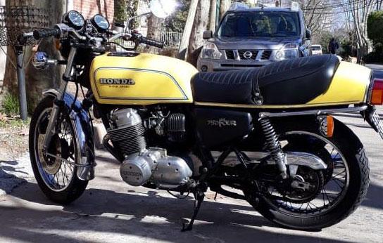 Moto Honda CB 750 Super Sport F1