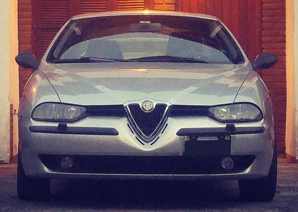 Car Alfa Romeo 156 V6 Kit Sport