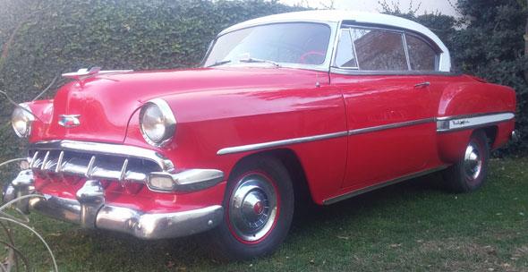 Auto Chevrolet 1954