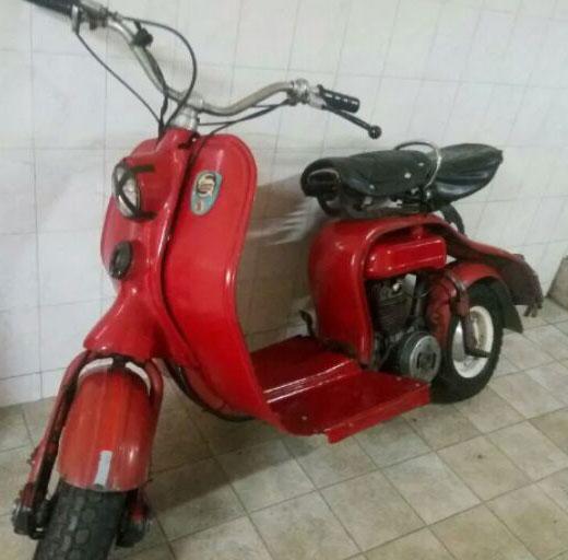 Siambreta 125 Lujo Motorcycle