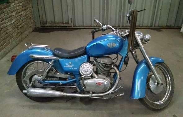 Gilera 300 Motorcycle