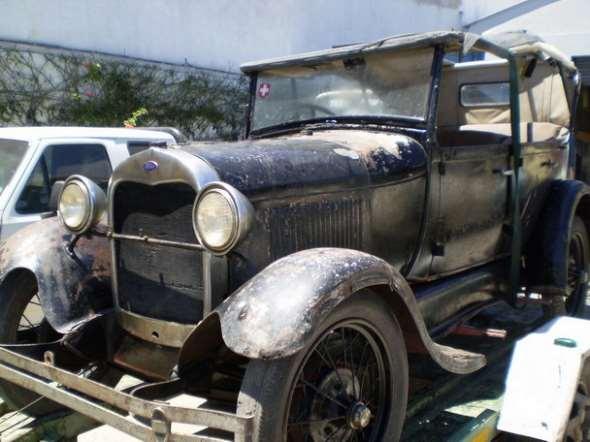 Auto Ford Doble Phaeton