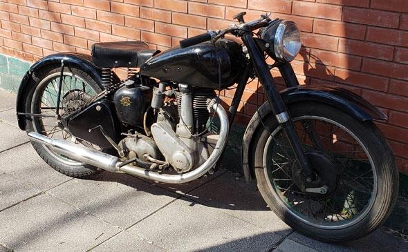 BSA B31 350 1948 Motorcycle