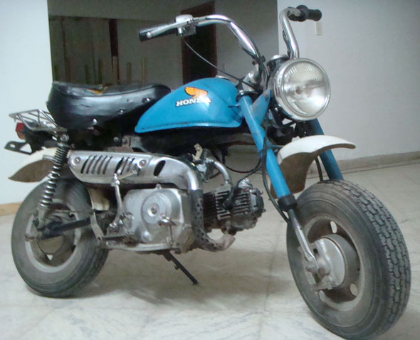 Moto Honda Monkey