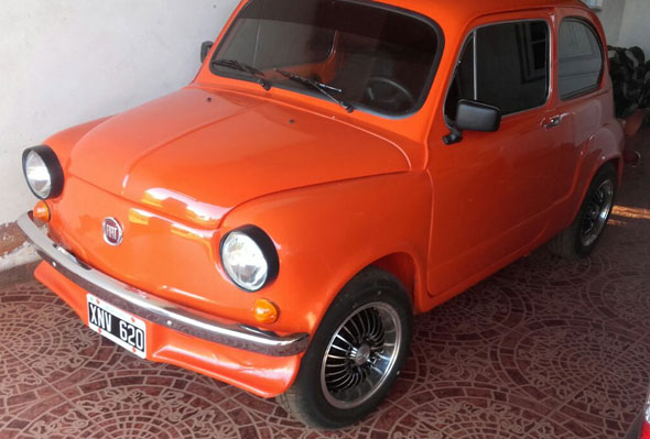 Car Fiat 600 1980