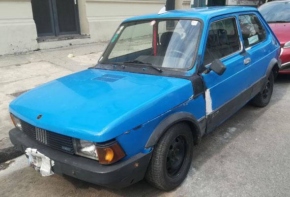 Car Fiat 147 D 1300 1995