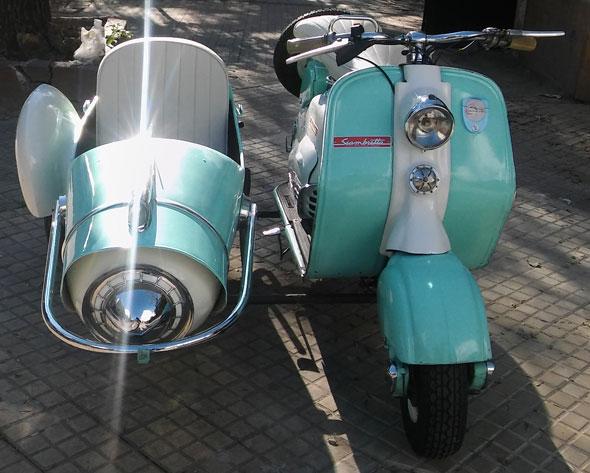 Siambretta 1958 Motorcycle