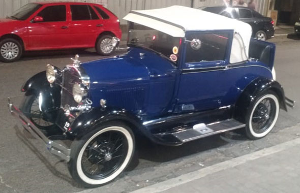 Auto Ford A 1929