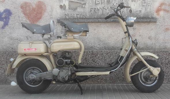 Siambretta Std 125 Motorcycle