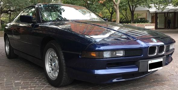 Car BMW 850 CI