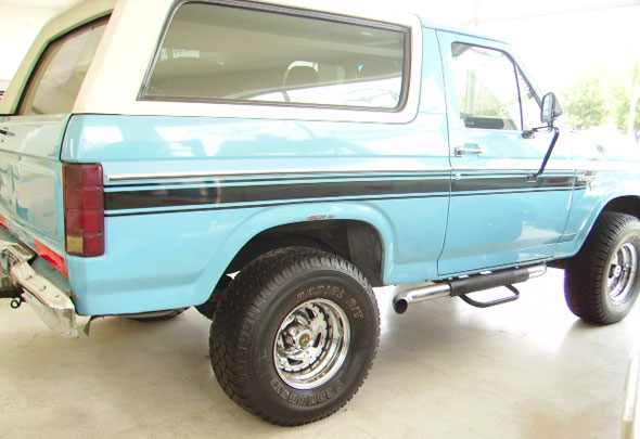Car Ford Bronco