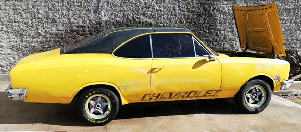 Auto Chevrolet Opala