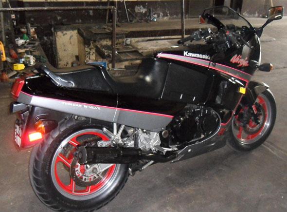 Kawasaki Ninja GPX600R Motorcycle