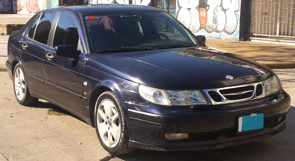 Auto Saab 9,5