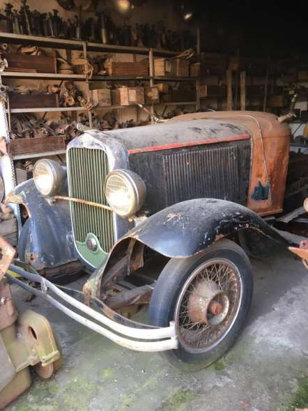 Auto Dodge Brothers 1931 8 Cil Baquet