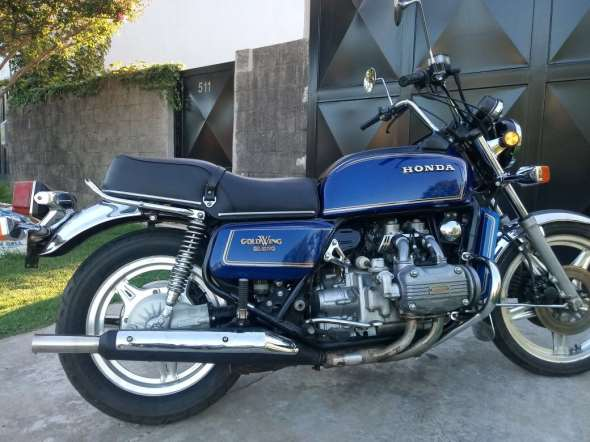 Honda Golwing Motorcycle