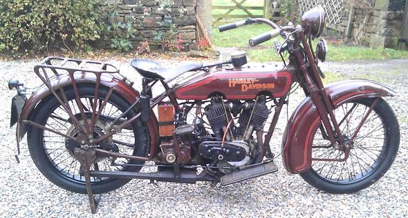Harley Davidson Model J Motorcycle
