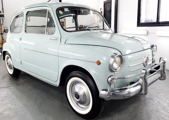 Car Fiat 600 D 1961